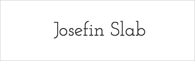 Josefin_Slab